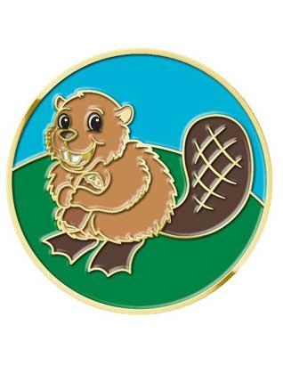 Eager Beaver Pin