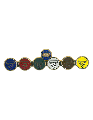 MG class bar pin